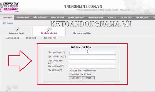 cách đăng ký mã số thuế online