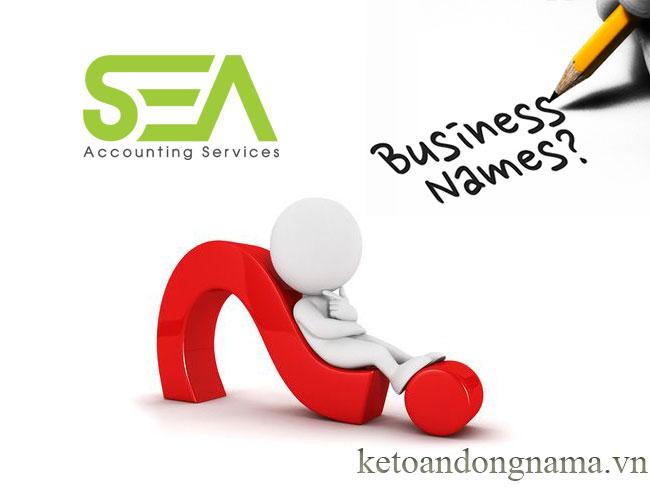Đặt tên công ty cho doanh nghiệp