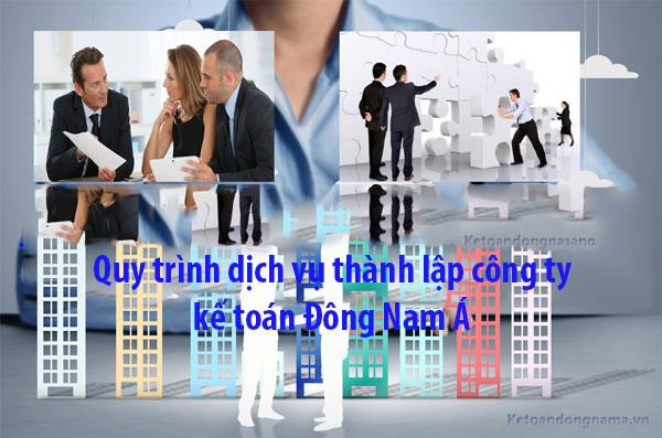 Dịch vụ thành lập công ty - kế toán Đông Nam Á