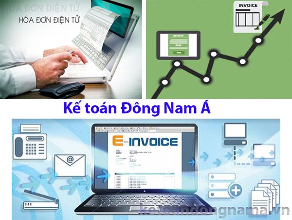Dịch vụ hóa đơn điện tử - kế toán Đông Nam Á
