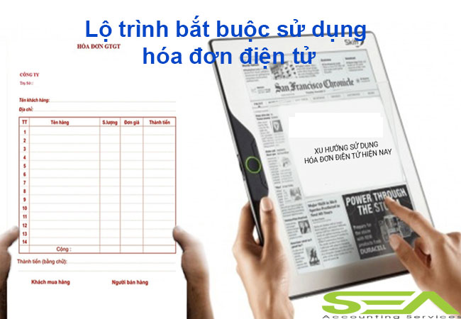 Lộ trình bắt buộc sử dụng hóa đơn điện tử