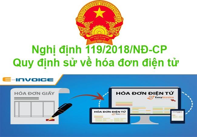 Nghị định 119/2018/NĐ-CP