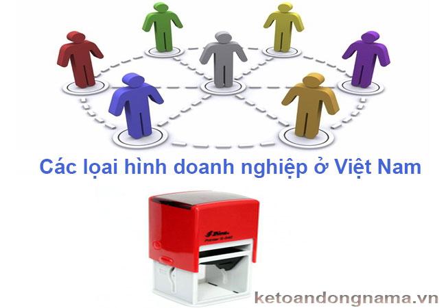 Các loại hình doanh nghiệp ở Việt Nam