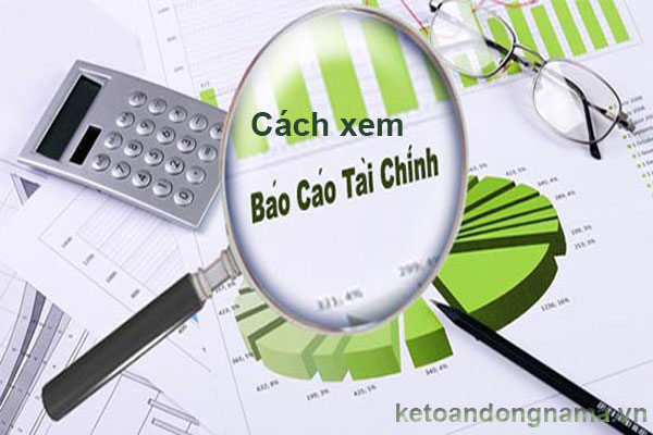 Cách xem báo cáo tài chính