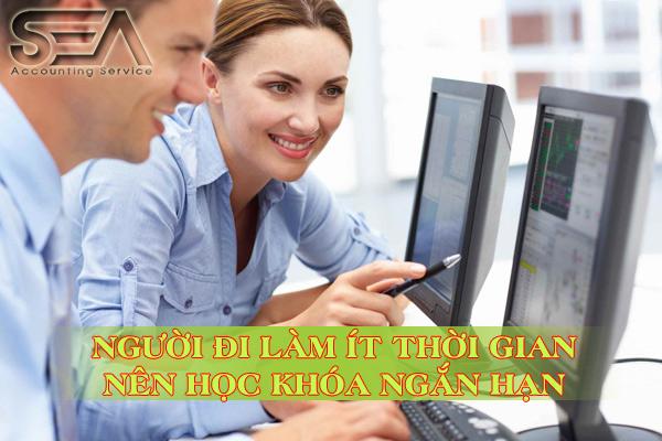 khóa học kế toán ngắn hạn tại tphcm