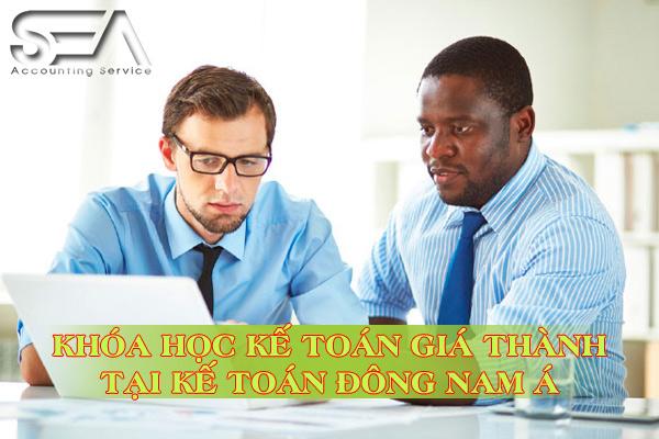 khóa học kế toán giá thành