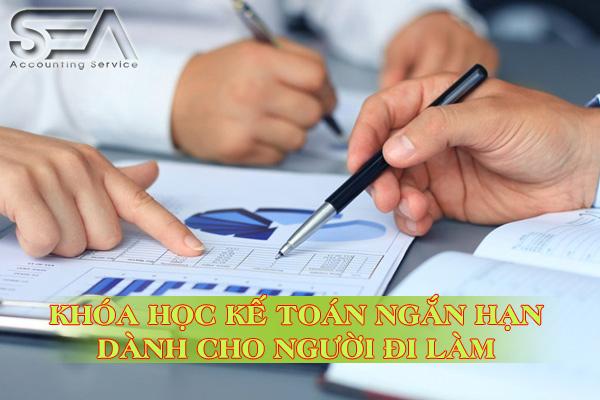 khóa học kế toán ngắn hạn