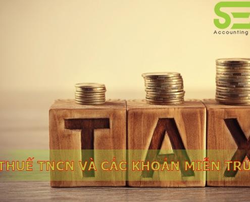 Các khoản miễn thuế TNCN năm 2020